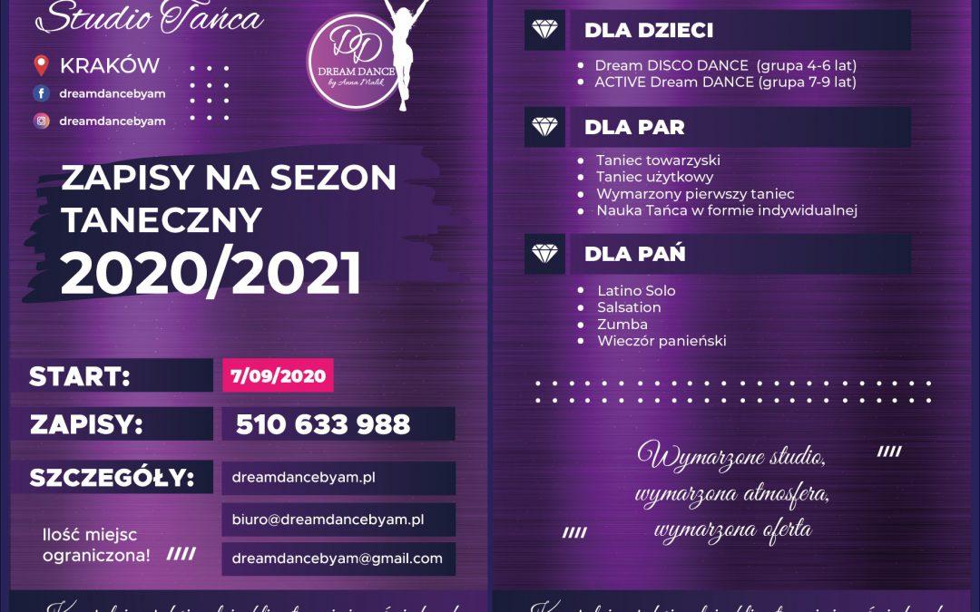 Zapisy Na Sezon Taneczny 2020/2021